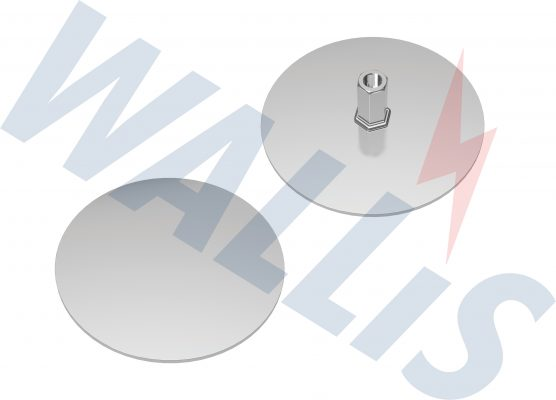 Lightning Protection/ Stainless Steel Strike Pads
