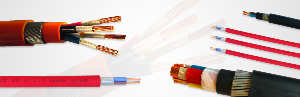Fire resistant and fire alarm cables