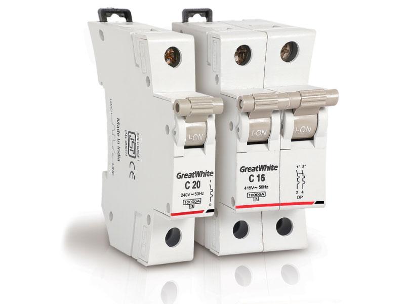Miniature Circuit Breakers (MCBs), Isolators, Distribution Boards (DBs)