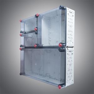Plastic splicing box