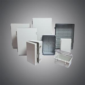 Plastic hinge box